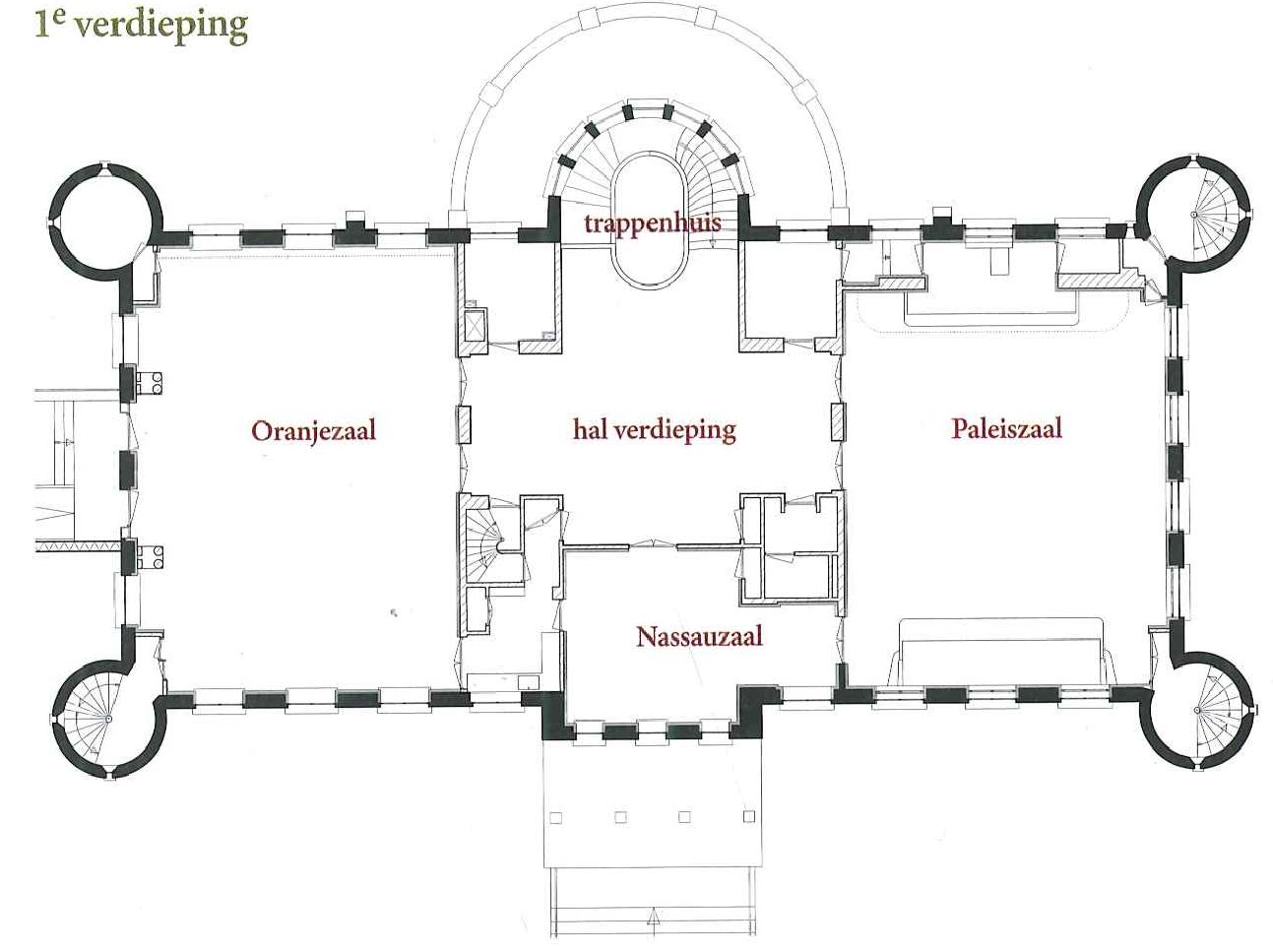 Paleis 1e verdieping
