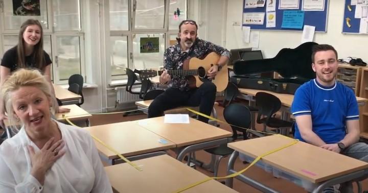 Still uit filmpje Ik zit hier alleen in een te stille klas Kindcentrum Christoffel