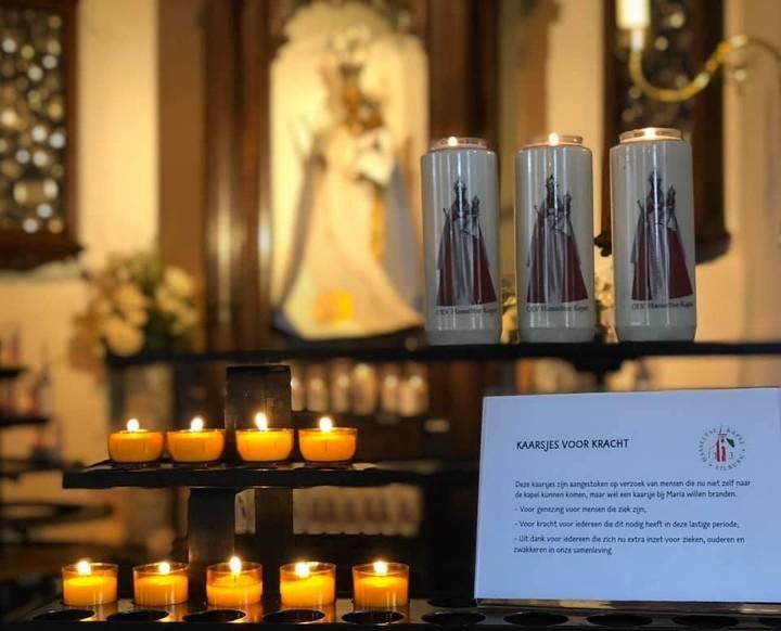 Kaarsen in Hasseltse Kapel
