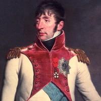 1809 Lodewijk Napoleon door Charles Howard Hodges kleur detail