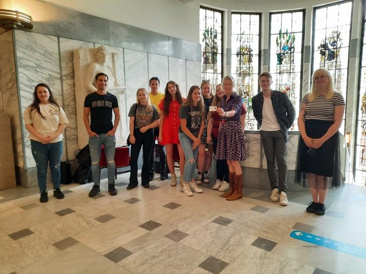 De groep van Unlocked voor Kaapstad Tilburg