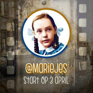 Post Marie Jes start op 3 april