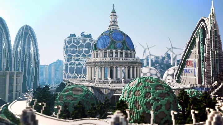 Minecraft Future Blocks of Tilburg